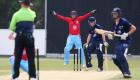 12/06/15 Cambridge v Oxford Varsity Twenty20 Varsity 20-20 match - Wicket keeper, Patrick Tice sucessfully appeals LBW..Pic - Richard Marsham