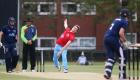 12/06/15 Cambridge v Oxford Varsity Twenty20 Varsity 20-20 match - Alasdair Pollock bowls..Pic - Richard Marsham
