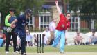 12/06/15 Cambridge v Oxford Varsity Twenty20 Varsity 20-20 match - Alex Blofield bowls.Pic- Richard Marsham