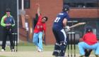 12/06/15 Cambridge v Oxford Varsity Twenty20 Varsity 20-20 match - Avish Patel bowls.Pic- Richard Marsham