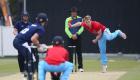 12/06/15 Cambridge v Oxford Varsity Twenty20 Varsity 20-20 match - Ben Wylie bowls..Pic - Richard Marsham